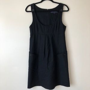 [French Connection] Wool Low scoop dress